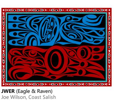 Velvet Plush Blanket- Eagle Raven Joe Wilson-1