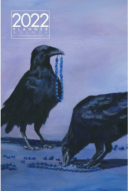 2022 Weekly Planner - Raven Beads by Jean Taylor