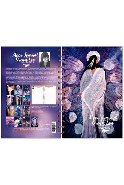Moon Journal & Dream Log by Betty Albert