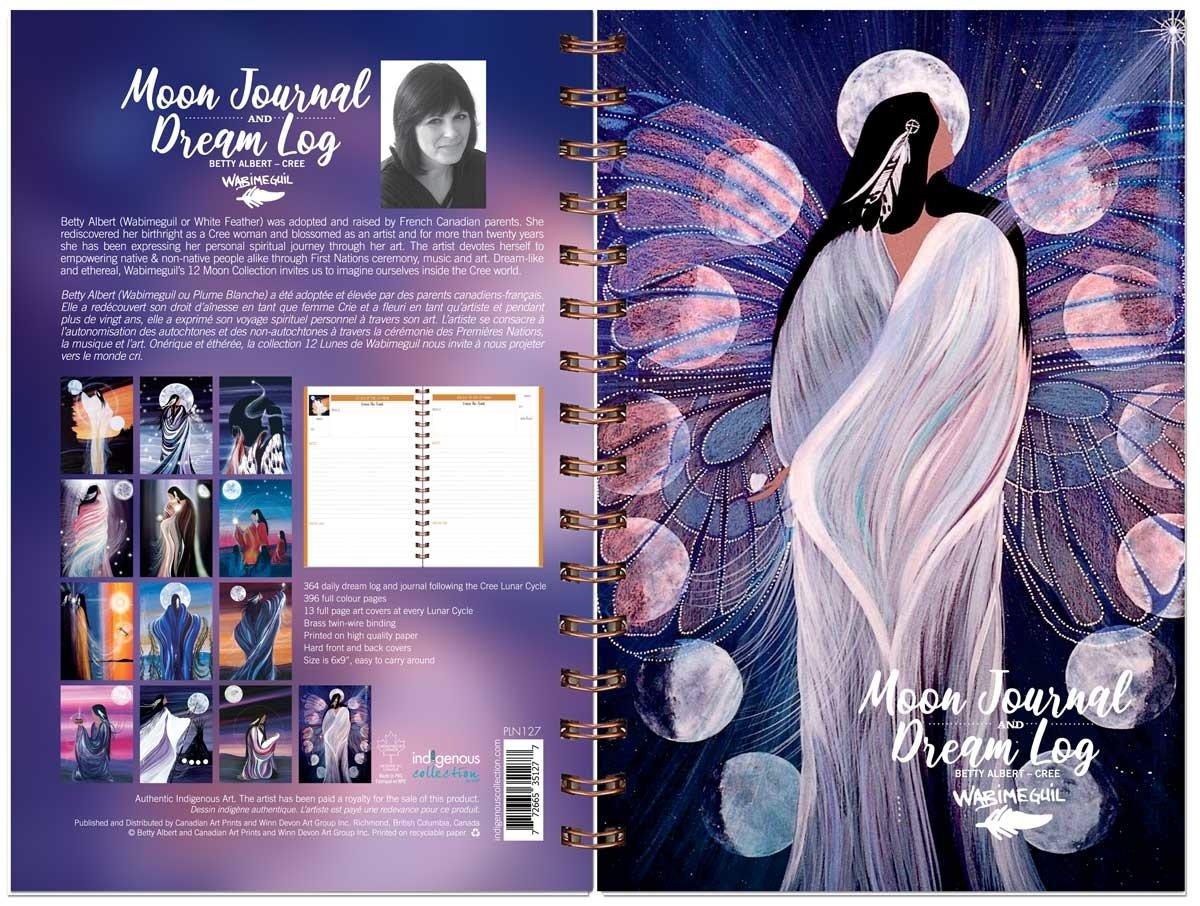 Moon Journal & Dream Log by Betty Albert-1