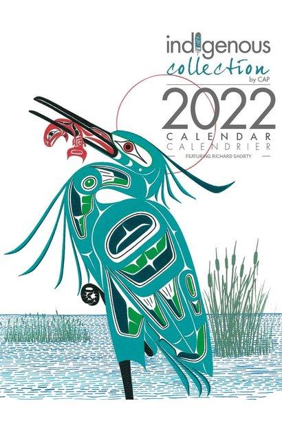 2022 Calendar - Artwork by Richard Shorty