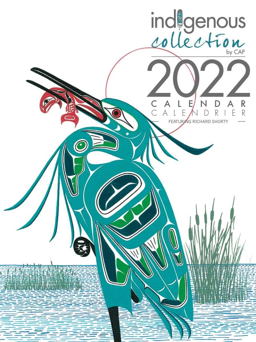 2022 Calendar - Artwork by Richard Shorty-1