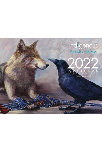 2022 Calendar - artwork by Jean Taylor