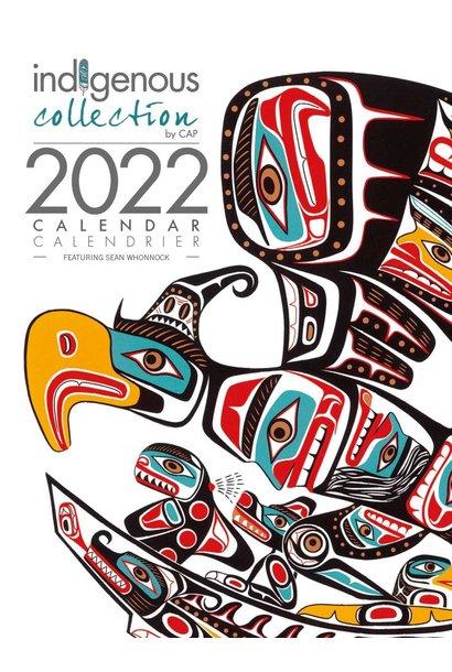 2022 Calendar -Artwork by Sean Whonnock