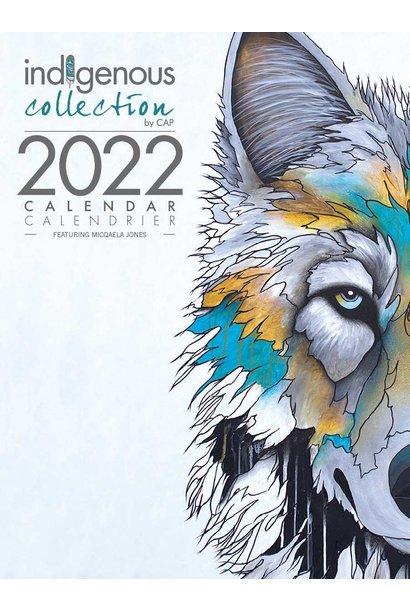 2022 Calendar -Artwork by Micqaela Jones