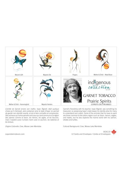 Boxed Cards - Prairie Spirits by Garnet Tabacco
