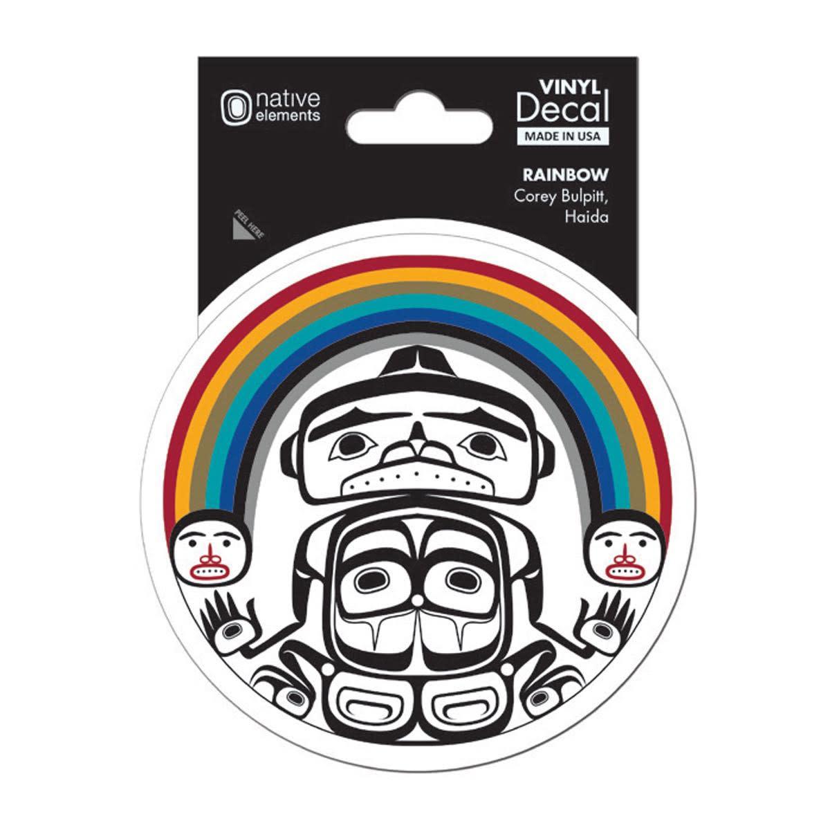 Premium Decal - Rainbow by Corey Bulpitt-1