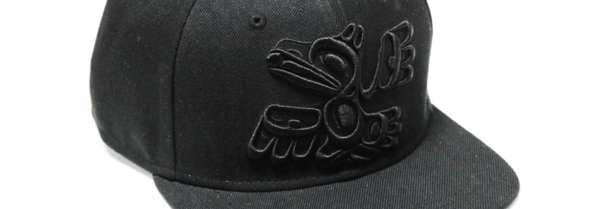 Snap Back Hat-Raven by Allan Weir