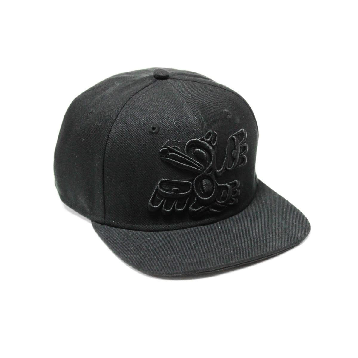 Snap Back Hat-Raven by Allan Weir-1