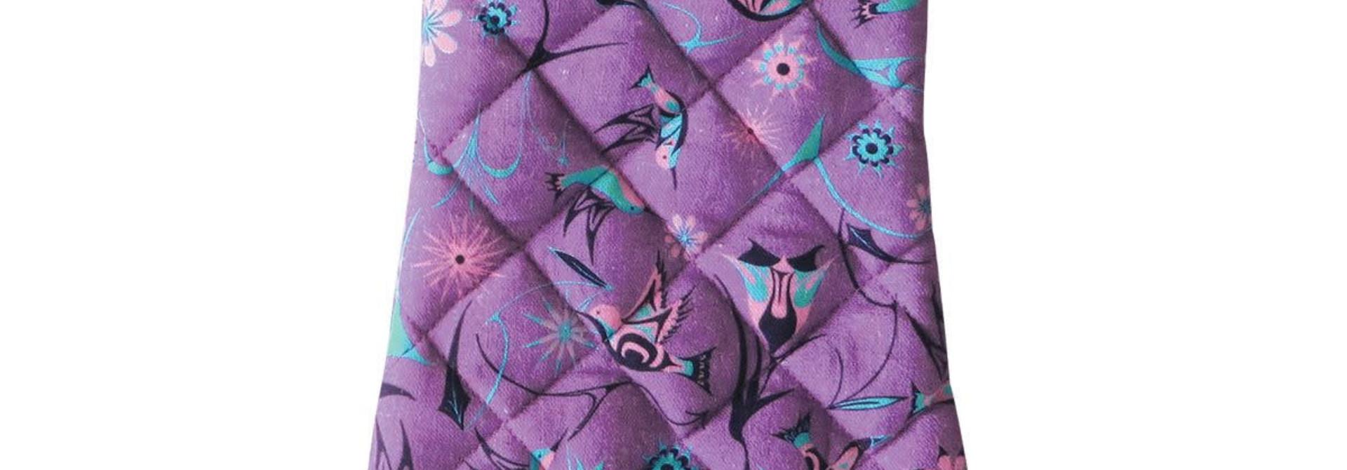 Oven Mitt-Hummingbirds by Nikki LaRock