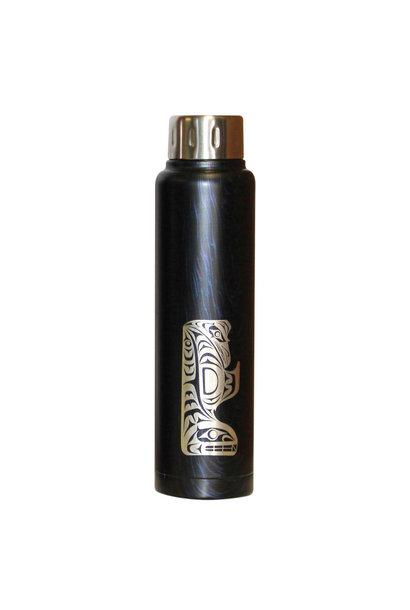 Thunderbird and Whale water bottle - Maynard Johnny Jr