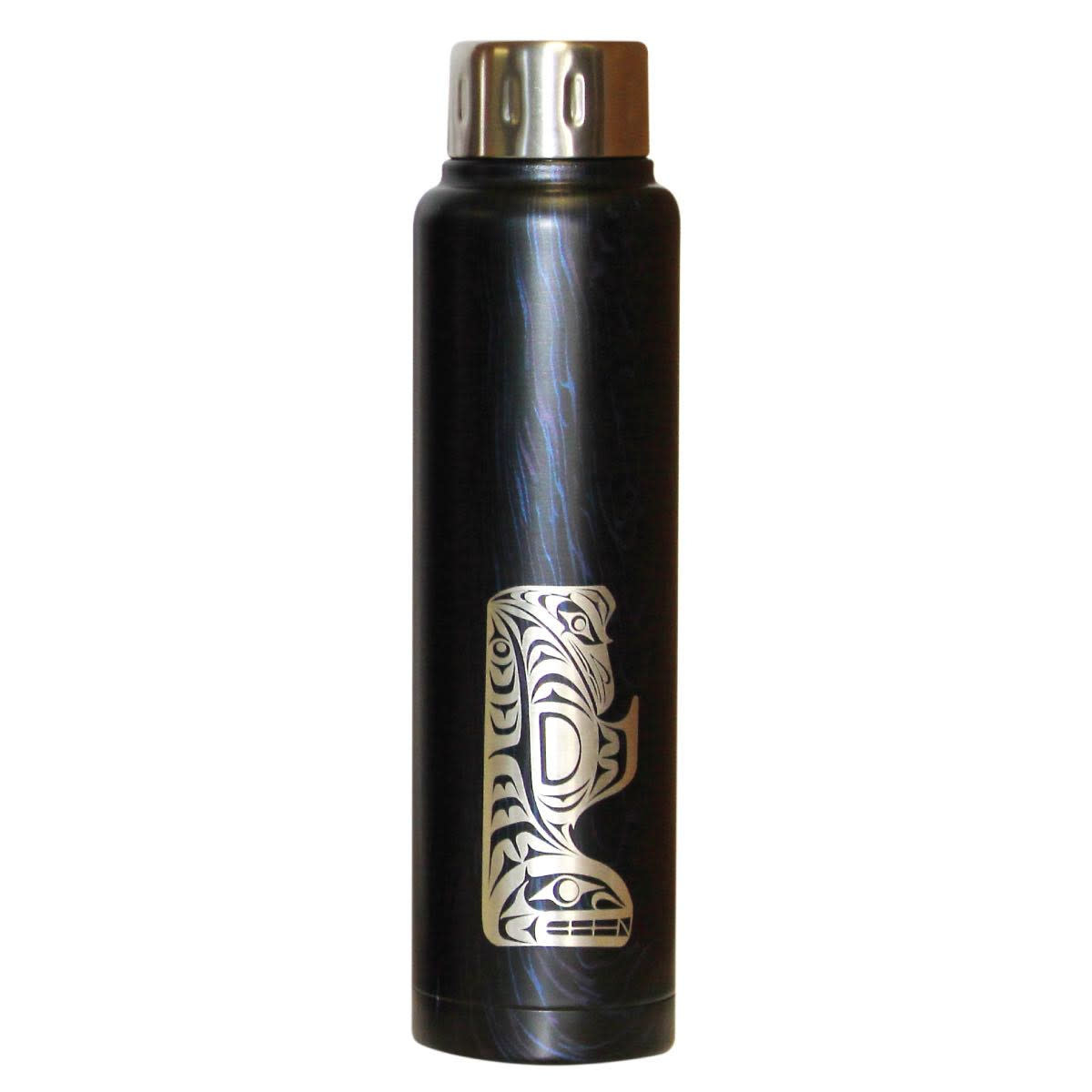 Thunderbird and Whale water bottle - Maynard Johnny Jr-1