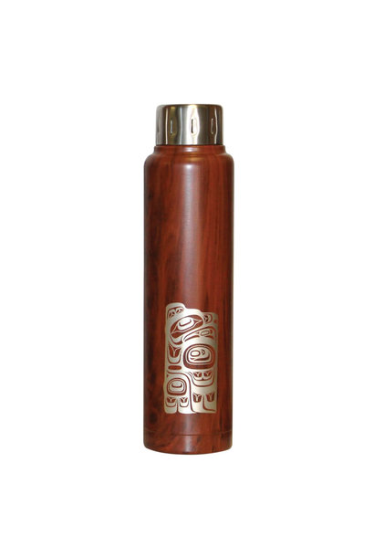 Insulated Totem Bottle - Eagle by Ernest Swanson