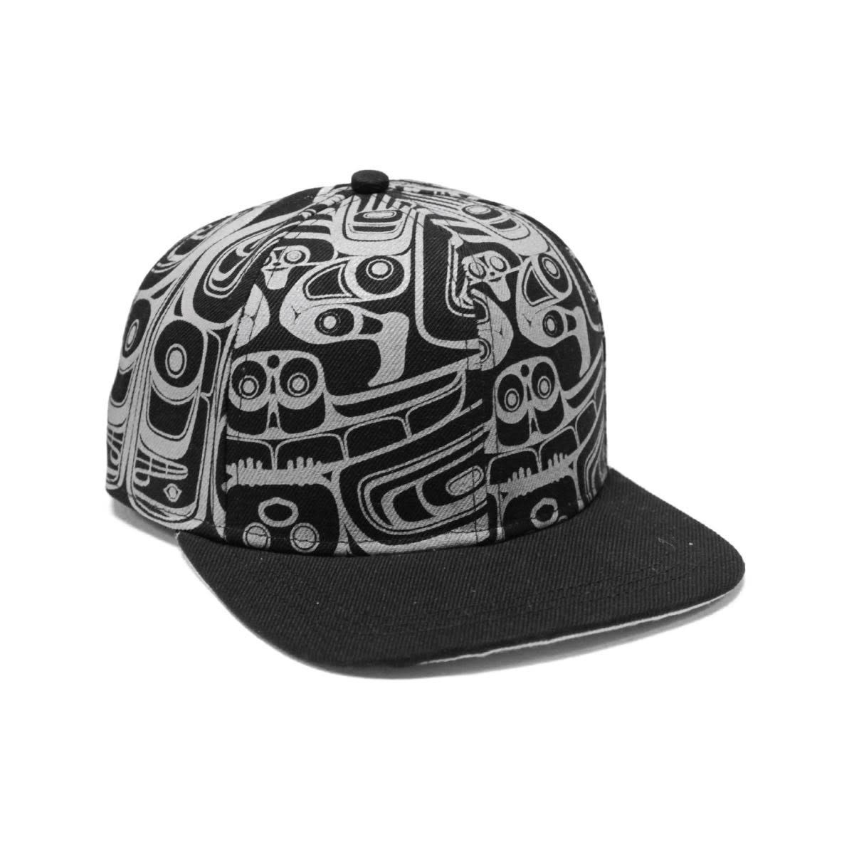 Snap Back Cap - The Ocean is our life by Morgan Asoyuf-1