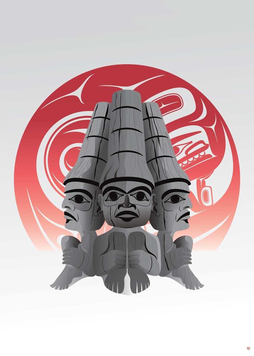 Three Watchmen Blood Moon-Mark Preston-1