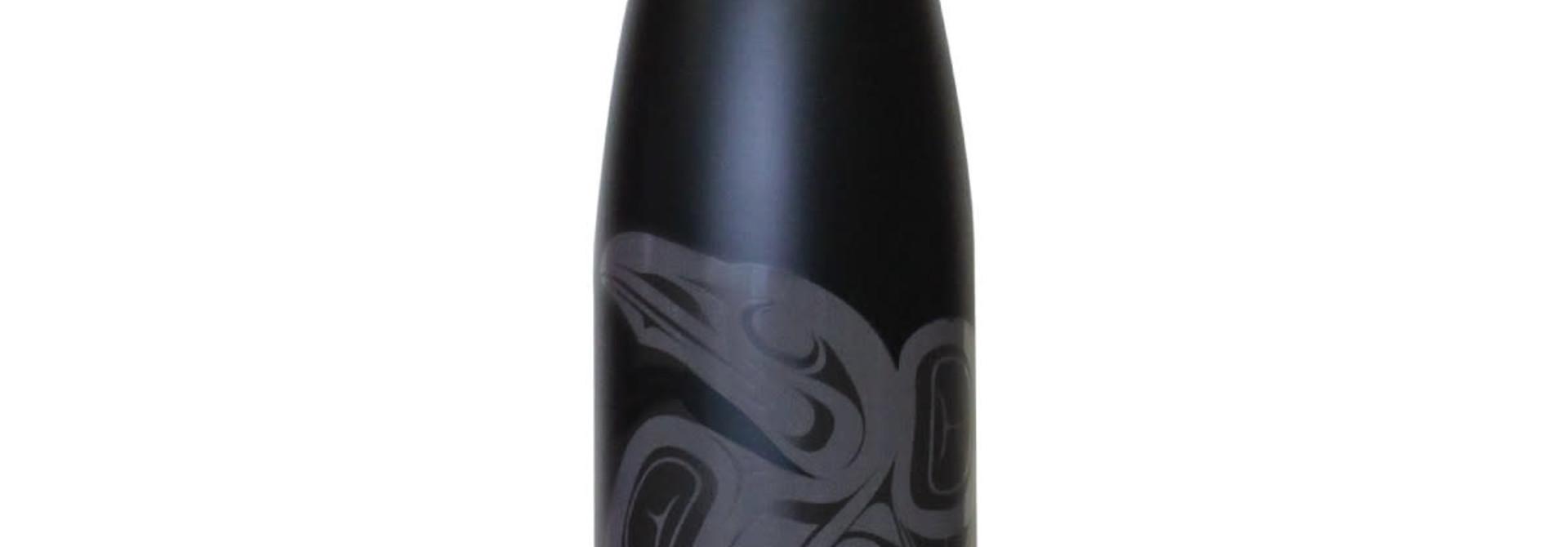 Insulated 17oz. bottle-Raven by Francis Horne Sr.
