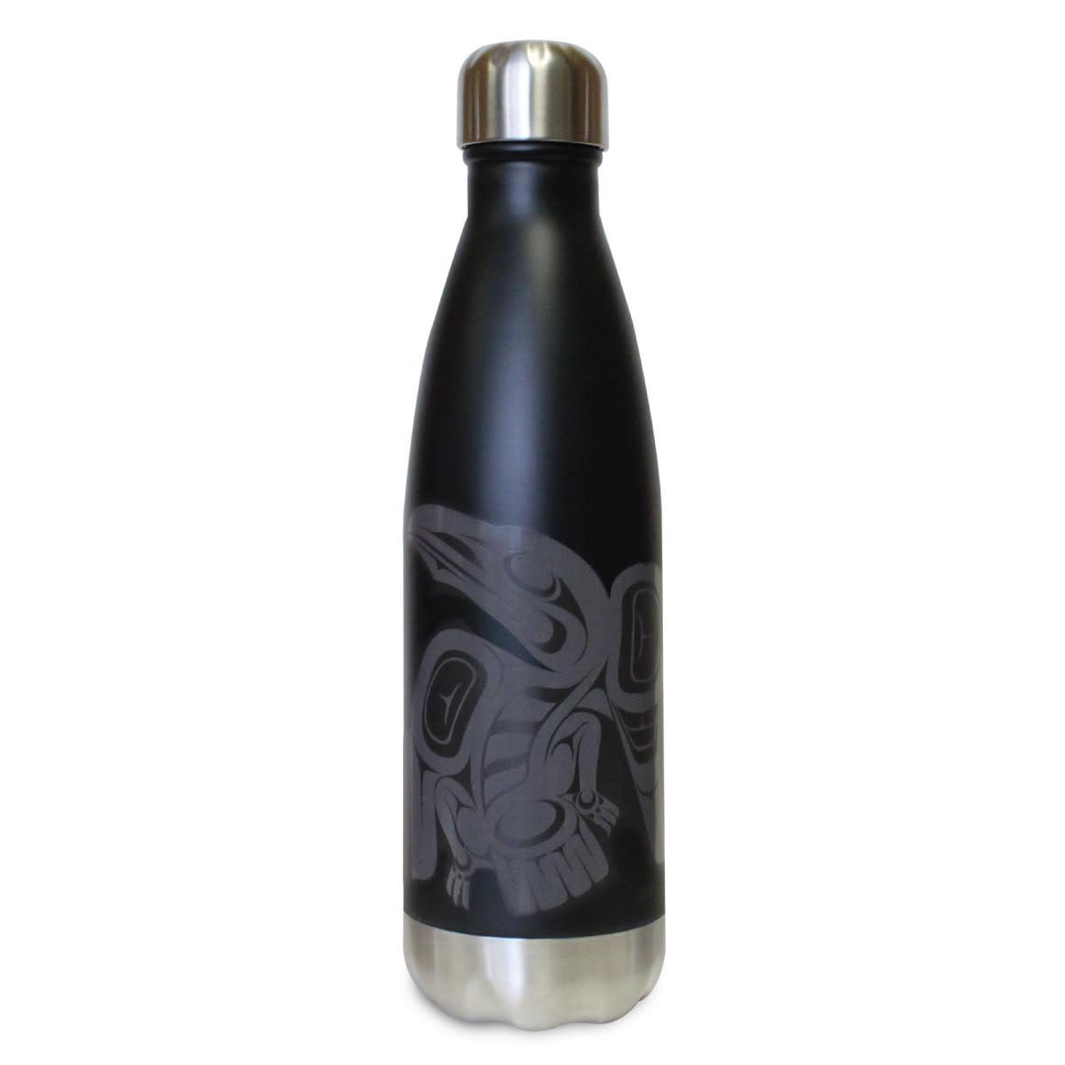 Insulated 17oz. bottle-Raven by Francis Horne Sr.-1