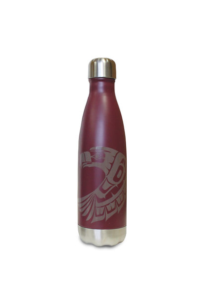 Insulated 17oz bottle-Eagle by Ben Houstie