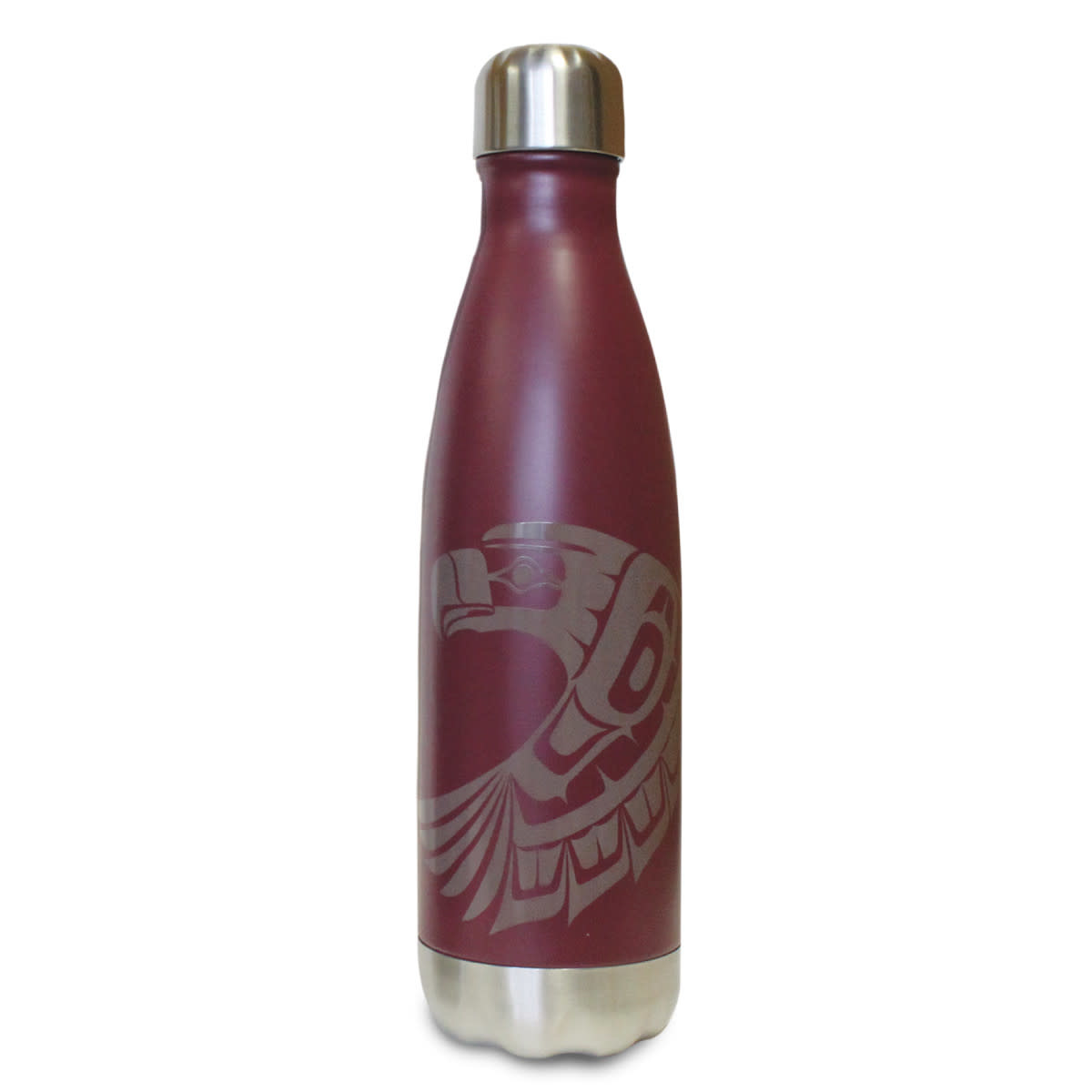 Insulated 17oz bottle-Eagle by Ben Houstie-1