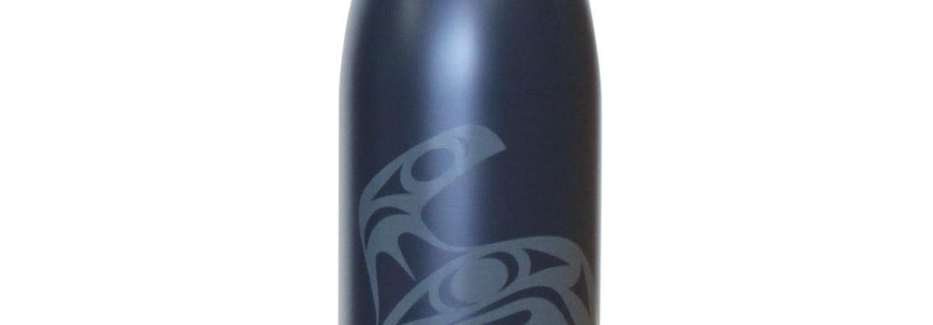Insulated 25oz bottle-Orca by Maynard Johnny Jr.