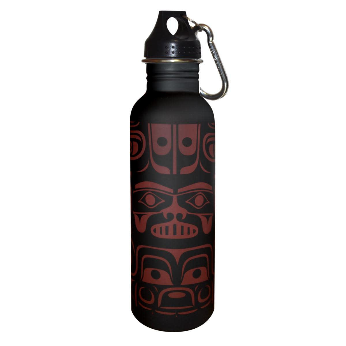 Water Bottle-Chilkat Whale by Ryan Cranmer-1