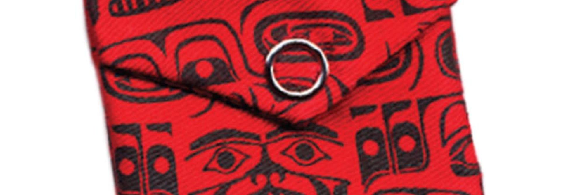 Pocket Spirit Pouch-Chilkat by Ryan Cranmer