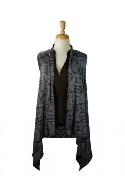 All Over Vest - Eagle by Kelly Robinson