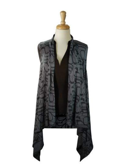 All Over Vest - Eagle by Kelly Robinson-1