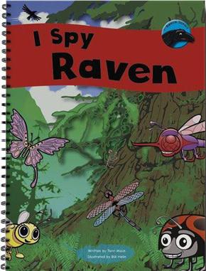 Children's book - I Spy Raven-2