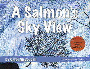 Children's book- A salmon's sky view-1