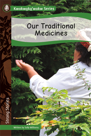 Book -Our Traditional Medicines by Sally Williams-1