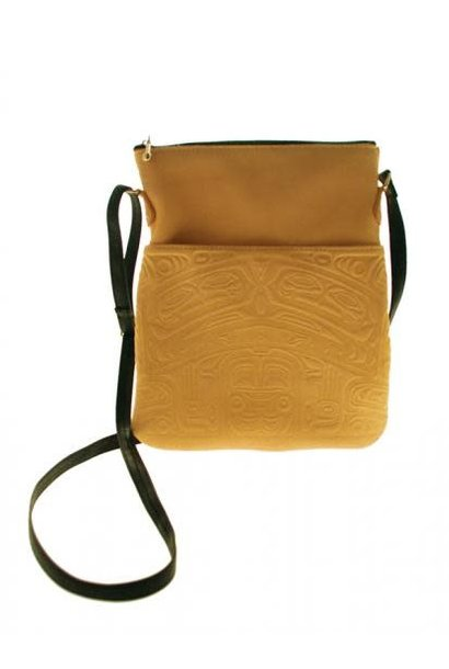 Leather Solo Bag - Bear Box Design