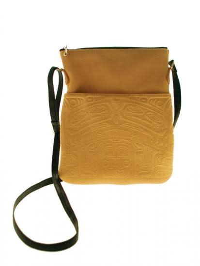 Leather Solo Bag - Bear Box Design-1