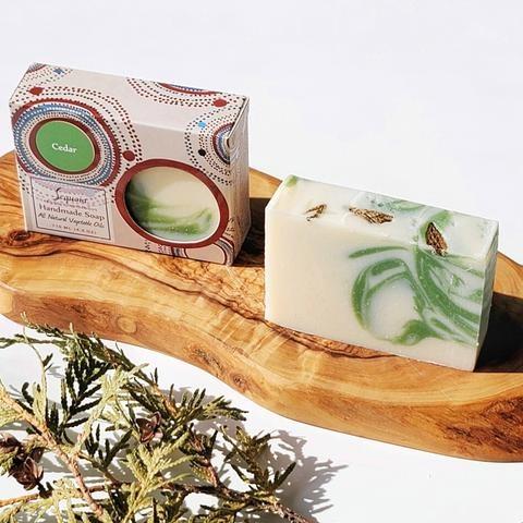 Sequoia 4 oz Soap - Cedar-2