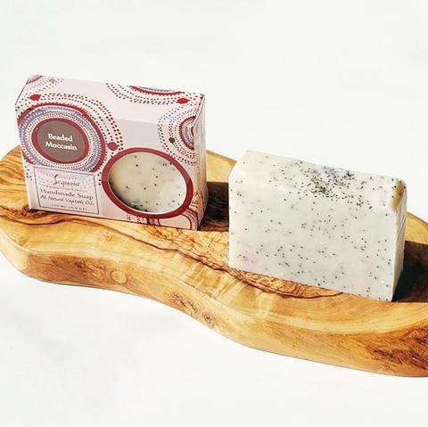 Sequoia 4 oz Soap - Beaded Moccasin-2