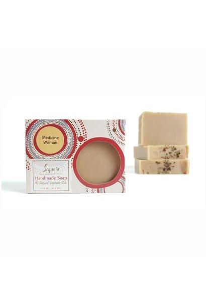 Sequoia 4 oz soap - Medicine Woman