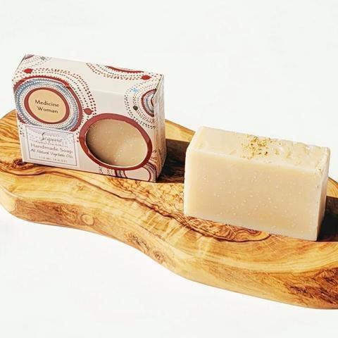 Sequoia 4 oz soap - Medicine Woman-2