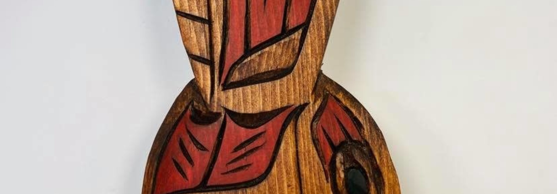 Hand Carved Hummingbird - Large