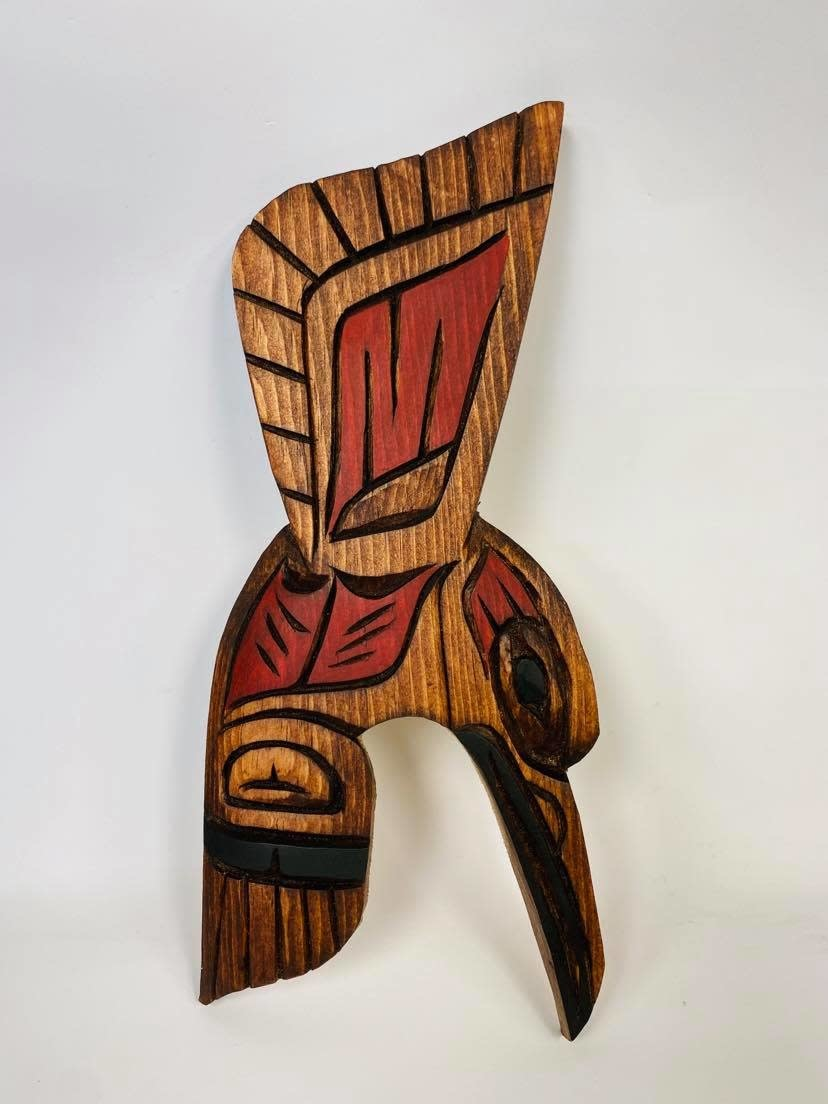 Hand Carved Hummingbird - Large-1