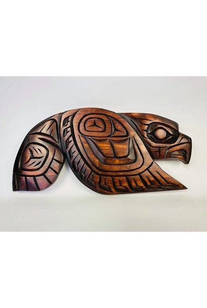 Hand Carved Eagle -Large