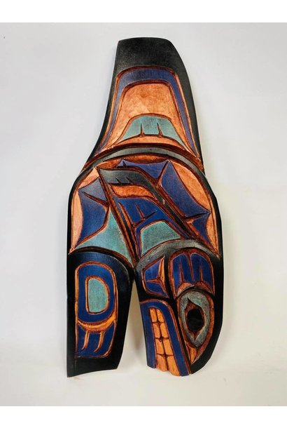 Hand Carved Killer Whale- Nelson McCarty