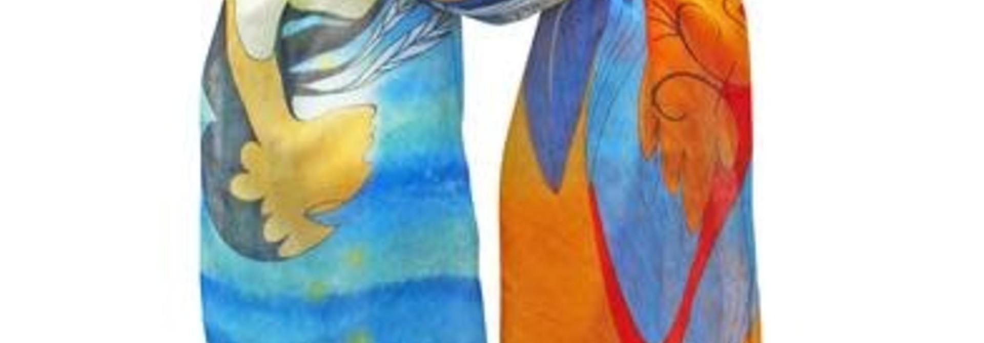 Scarf- Not Forgotten by Maxine Noel