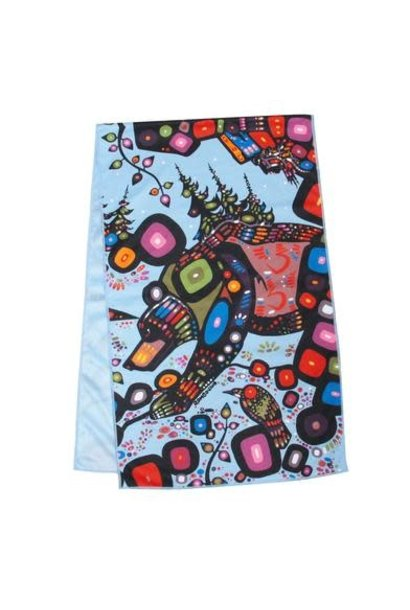 Cooling Towel - The Bear by John Rombough