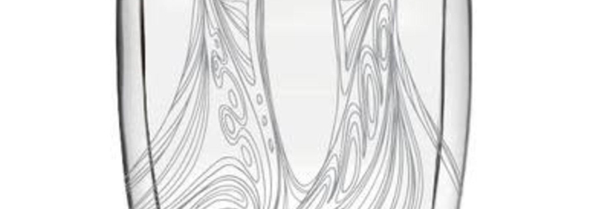 Double Wall Glass- Friends by Maxine Noel