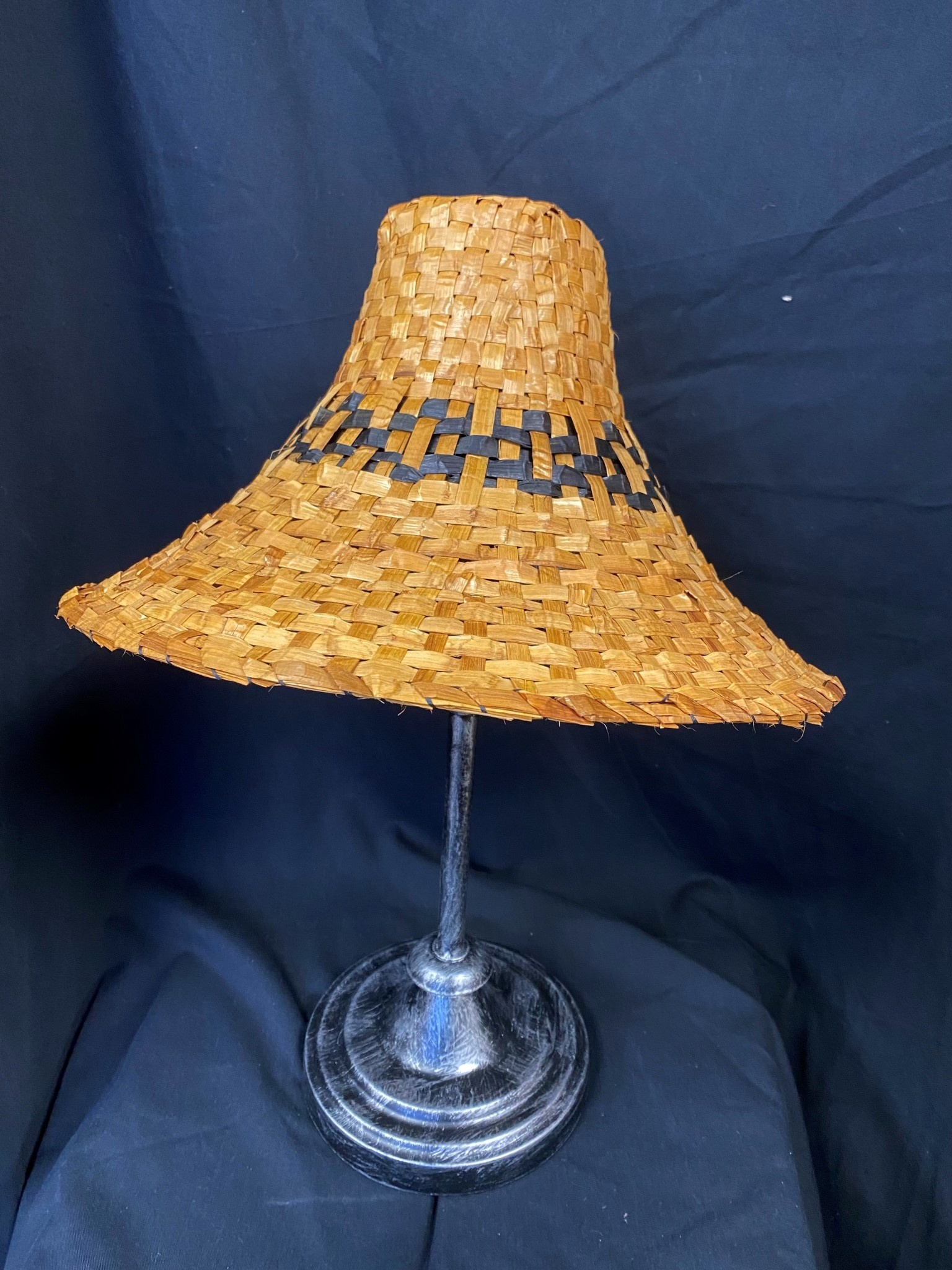 Cedar hand Woven Traditional Hat-1