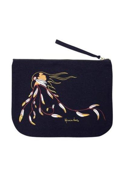 Maxine Noel Eagle's Gift Eco Zip Pouch