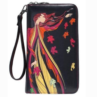 Maxine Noel Leaf Dancer Travel Wallet-1