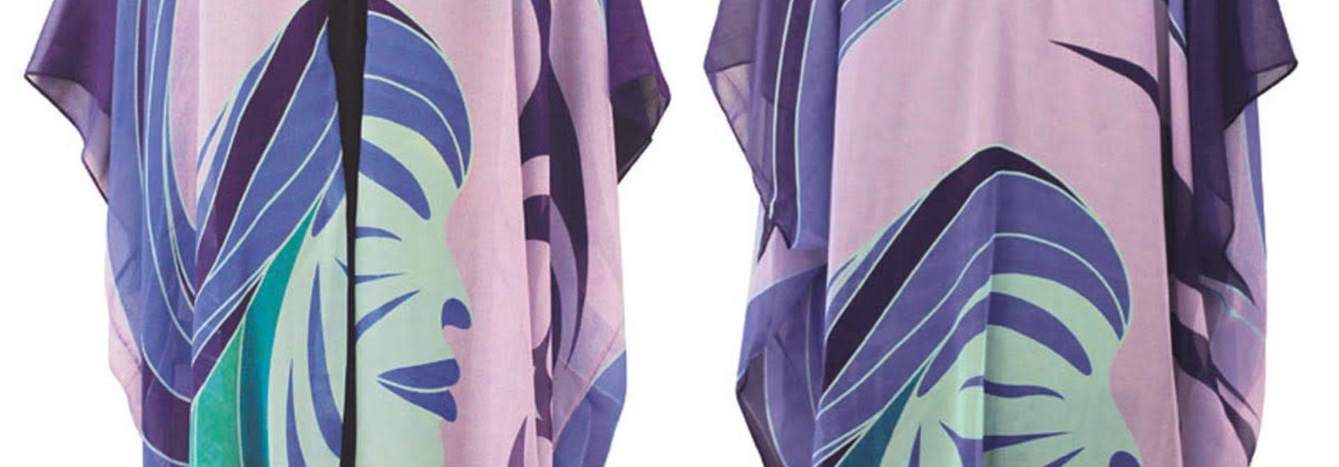 Sheer Fashion Wrap Matriarchal Power- Simone Diamond