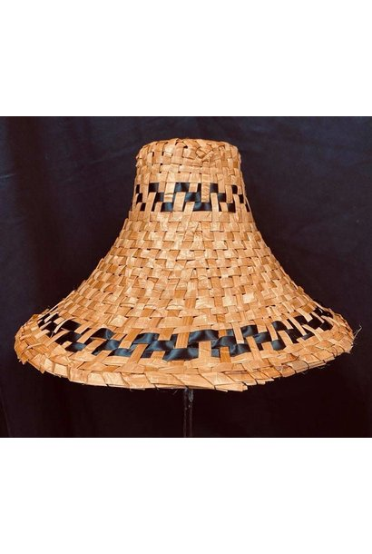 Traditional Cedar Hat with ribbon by Crystal Chapman