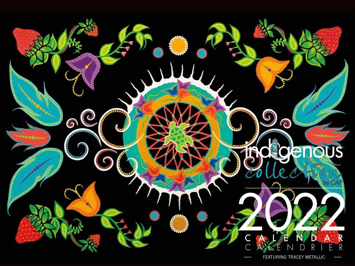 2022 Calendar art by Tracey Metallic-1